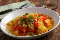 Vegan soup Royalty Free Stock Image