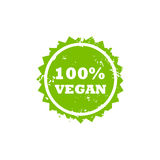 VEGAN stamp sign. VEGAN grunge stamp sign vector. Color is easily changed Royalty Free Stock Photos
