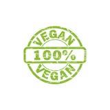 VEGAN stamp sign. VEGAN grunge stamp sign vector. Color is easily changed Stock Illustration