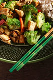 Vegan Stir Fry Royalty Free Stock Photos