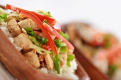 Vegan Stir-fry Stock Images