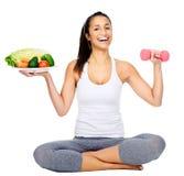 Vegan workout Stock Image