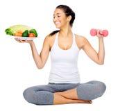 Vegan workout stock photos