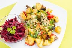Veganist gezond voedsel Royalty-vrije Stock Afbeeldingen