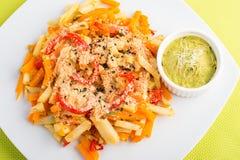 Veganist gezond voedsel Royalty-vrije Stock Foto's