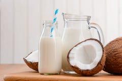 Veganistmelk zonder lactose royalty-vrije stock afbeeldingen