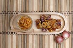 Veganistvoedsel, Zoete geweven plantaardige proteïne Royalty-vrije Stock Afbeelding