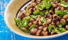 Vegano meridional Black Eyed Peas del estilo imagenes de archivo