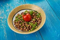 Vegano meridional Black Eyed Peas del estilo imagen de archivo