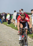 Vegard Breen- Paris Roubaix 2014 Royalty Free Stock Photos