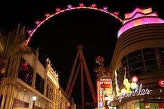 Vegas νύχτας Στοκ φωτογραφία με δικαίωμα ελεύθερης χρήσης