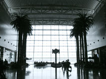 Vegas. Airport atrium in Las Vegas Stock Photo