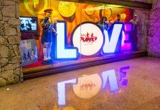 Vegas Beatles Arkivfoton