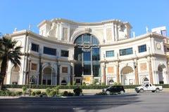 Vegas beautiful hotels Royalty Free Stock Images
