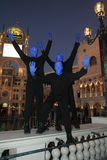 Vegas Blueman Photos stock