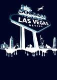 Vegas-branco Fotos de Stock