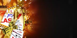 Vegas Casino Game Concept Royalty Free Stock Photo