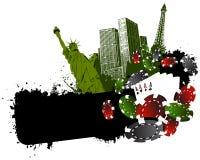Vegas city gambling Stock Photos