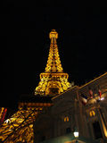 Vegas eiffel tower Royalty Free Stock Images