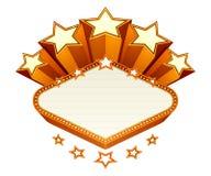 Vegas emblem Stock Photos