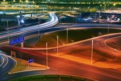 Vegas-Flughafen-Verkehr stockbilder