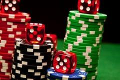 Vegas Game Royalty Free Stock Photos