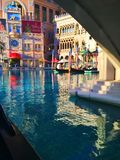 Vegas. Gondola ride in Las Vegas, Nevada Stock Photography