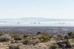 Vegas Haze Royalty Free Stock Photography