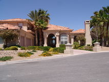 Vegas Home. Lake Las Vegas NV royalty free stock photography