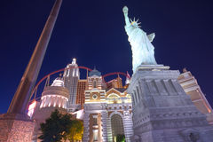 Vegas hotel and casino New York Stock Images