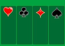 Vegas karty Obrazy Royalty Free