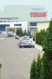 Vegas krokusstad - krokusgrupp Arkivfoto