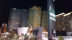 Vegas kryształów nighttime paska aria obraz royalty free