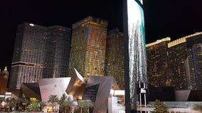 Vegas kryształów nighttime paska aria obrazy stock