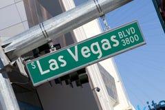 Vegas lasów bulwarów Fotografia Royalty Free