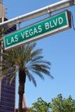Vegas lasów bulwarów Zdjęcie Royalty Free