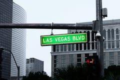 Vegas lasów bulwarów Zdjęcia Royalty Free
