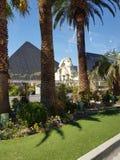 Vegas Las φωτός της ημέρας χαρτοπαικτικών λεσχών Luxor Στοκ Φωτογραφίες
