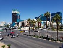 Vegas Las χαρτοπαικτικών λεσχών MGM Στοκ Φωτογραφίες