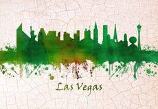 Горизонт Лас-Вегас бесплатная иллюстрация
