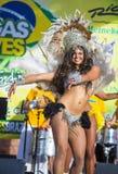 Vegas loves Brazil Stock Images