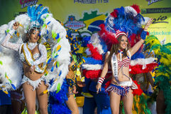 Vegas loves Brazil Stock Photos