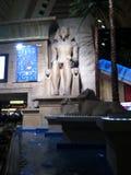 Vegas Luxor Egyptian. King tut in Vegas Royalty Free Stock Photos