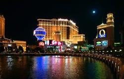 Vegas-Nacht stockfoto