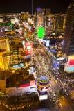 Vegas natt arkivbild