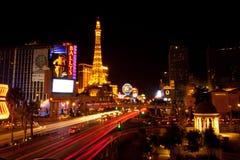 Vegas by night Stock Photo