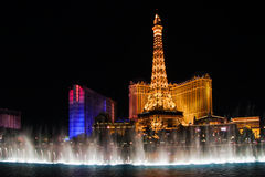 Vegas night Royalty Free Stock Image