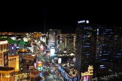 Vegas at night royalty free stock images