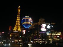 Vegas nigth Stock Afbeeldingen