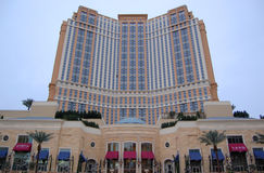 vegas palazzo ξενοδοχείων χαρτοπαικτικών λεσχών las Στοκ φωτογραφία με δικαίωμα ελεύθερης χρήσης